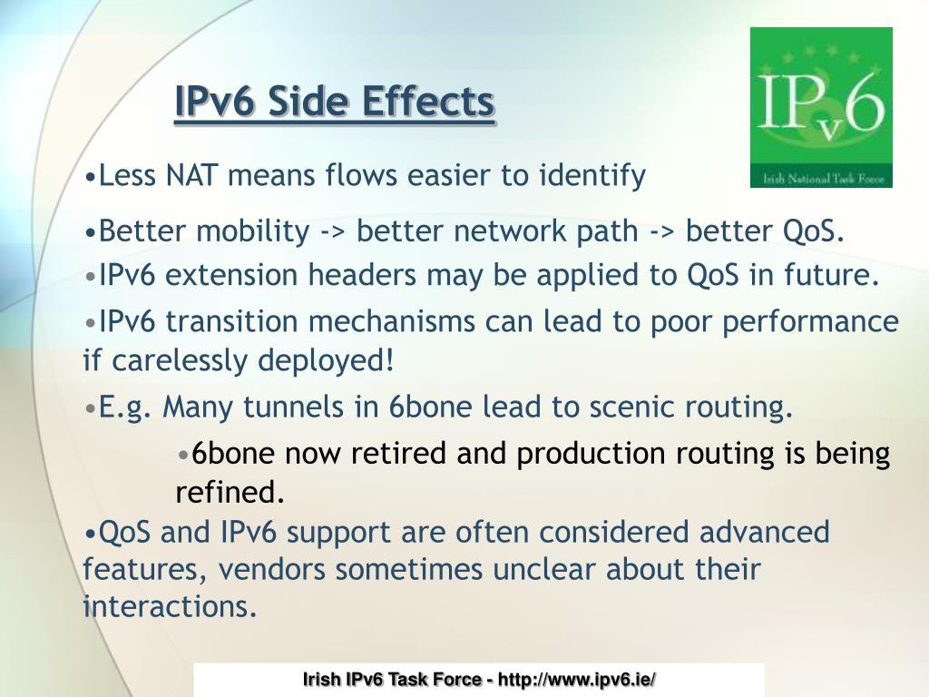 IPv6 Side Effects