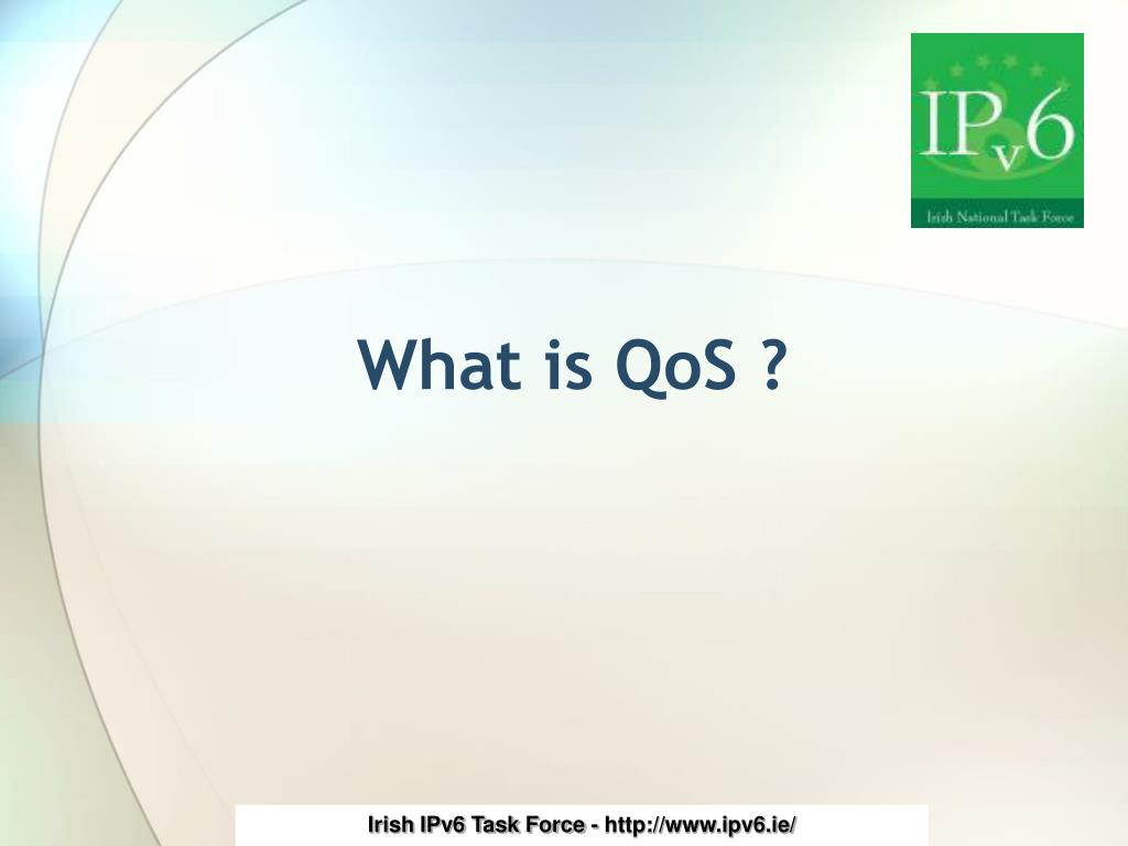What is QoS ?
