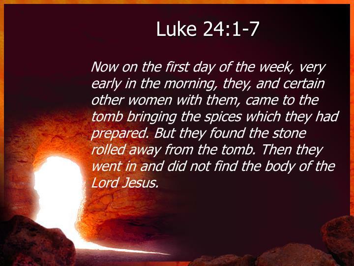 Luke 24 1 72