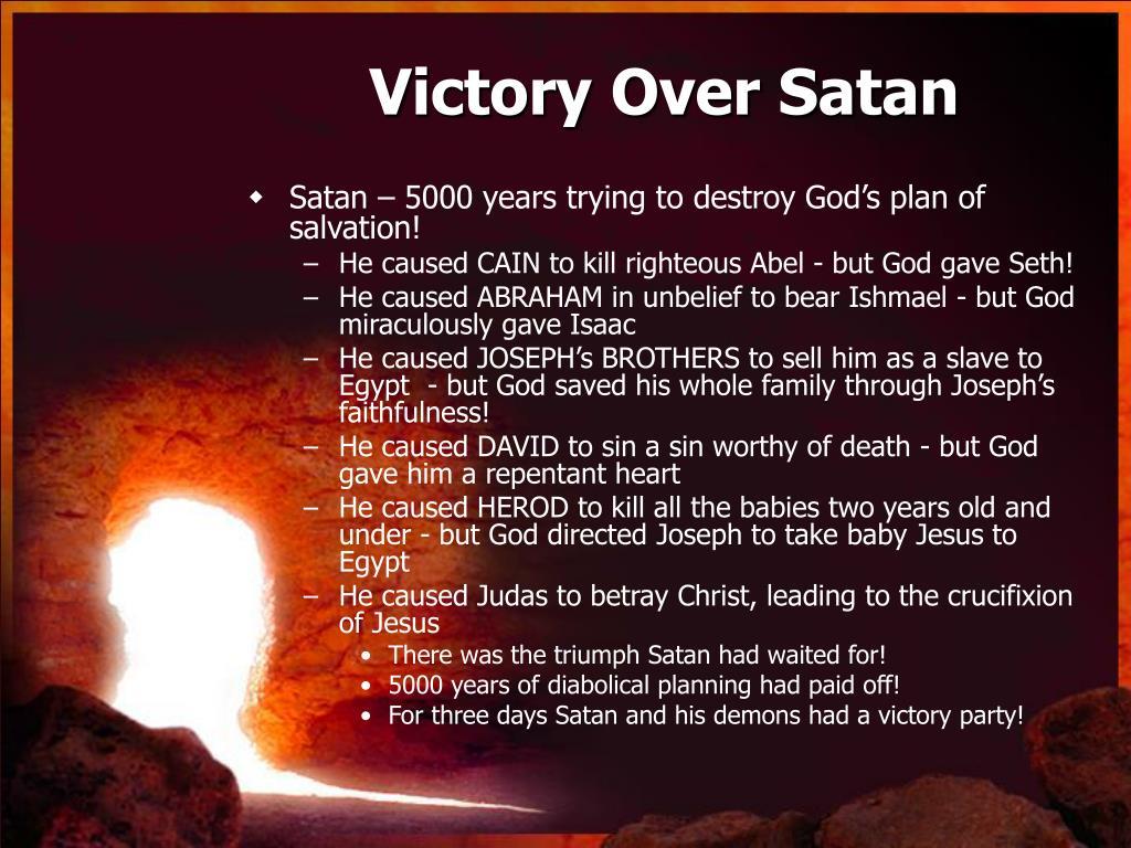 Victory Over Satan