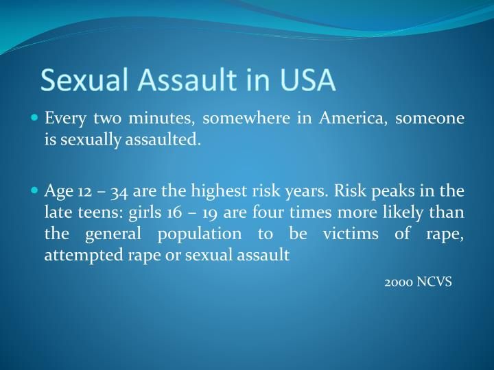 Sexual Assault in USA