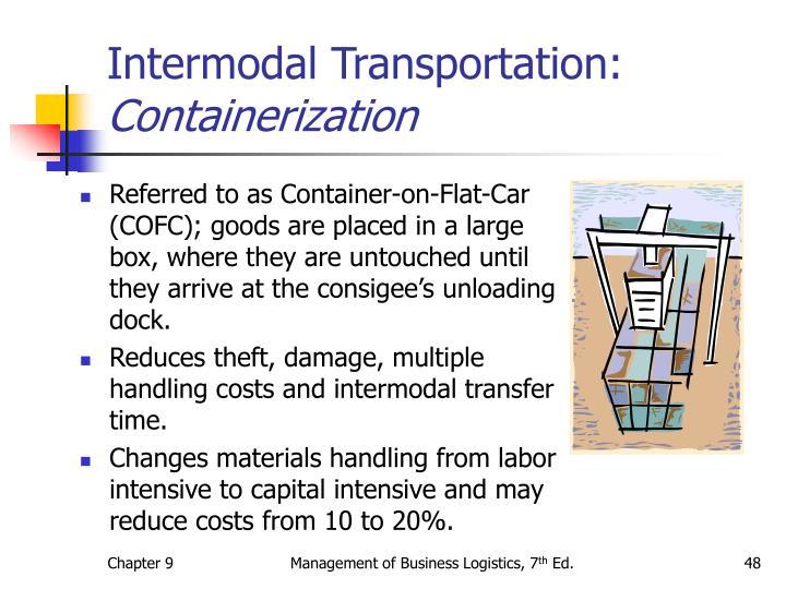 Intermodal Transportation: