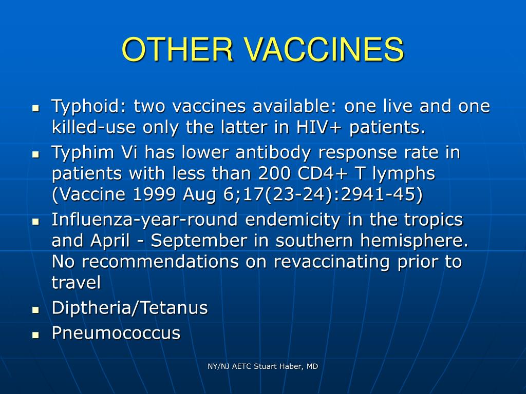 OTHER VACCINES