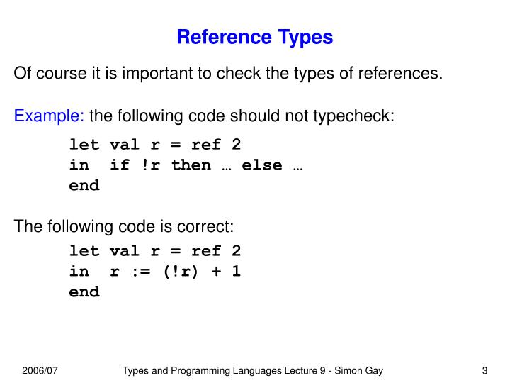Reference types3
