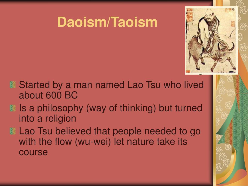 daoism and confucianism essay