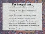 the integral test47
