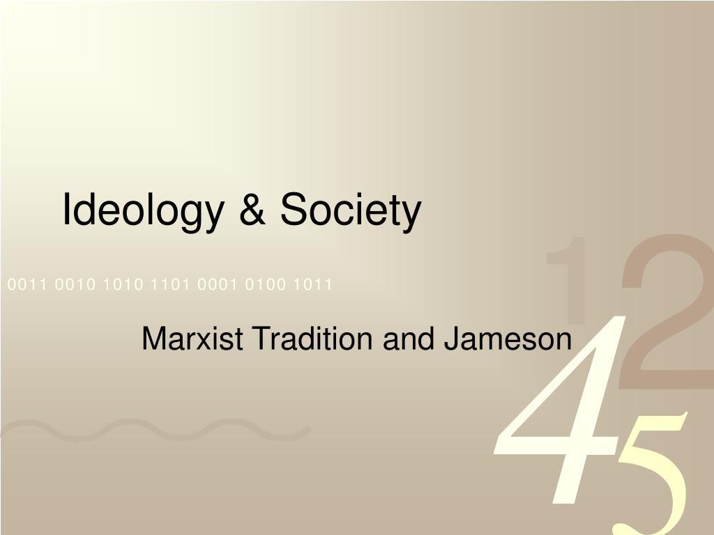 ideology society l.
