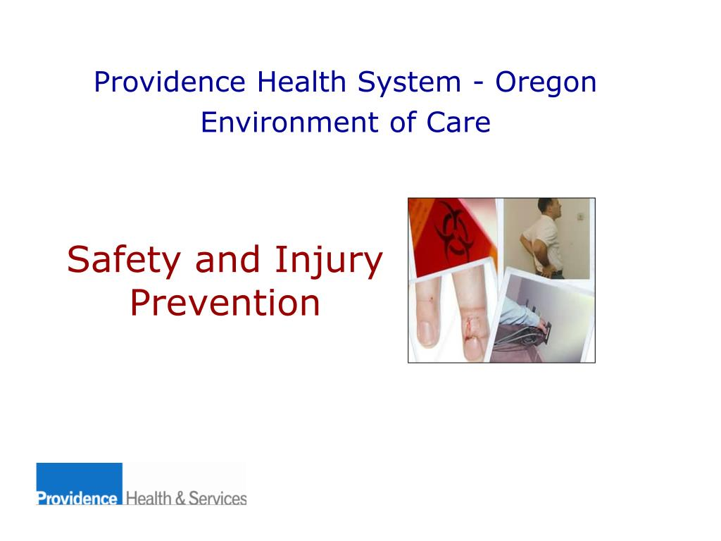 safety and injury prevention l.