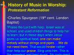 history of music in worship protestant reformation15