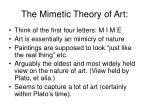 the mimetic theory of art4
