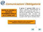 comunicazioni obbligatorie2