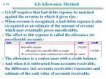 4 b allowance method