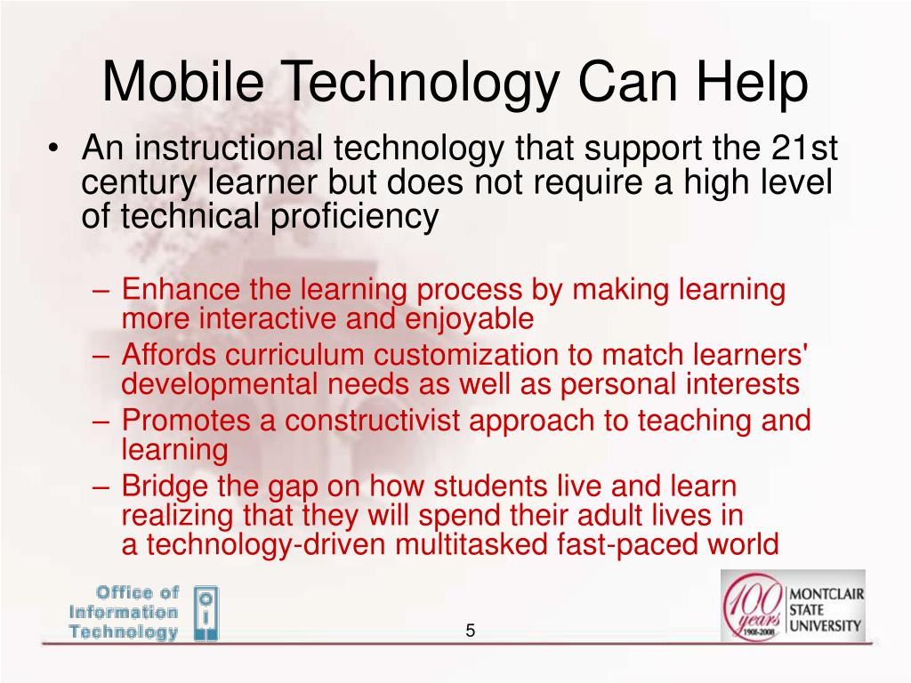 Mobile Technology Can Help