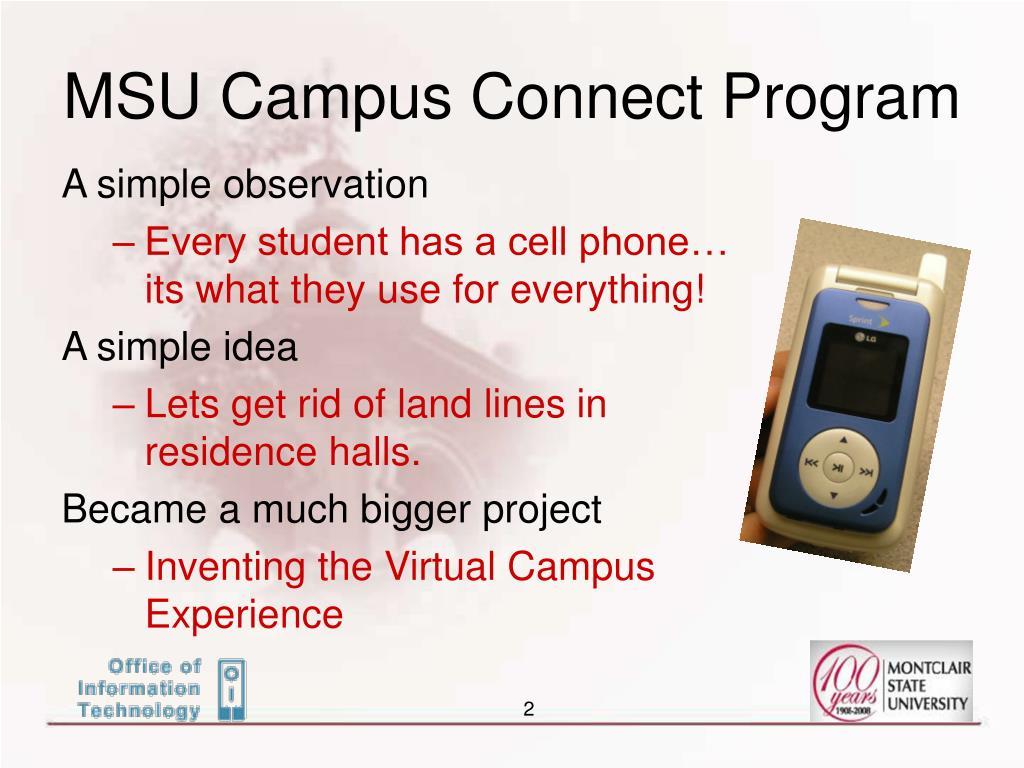 MSU Campus Connect Program