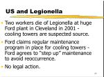 us and legionella