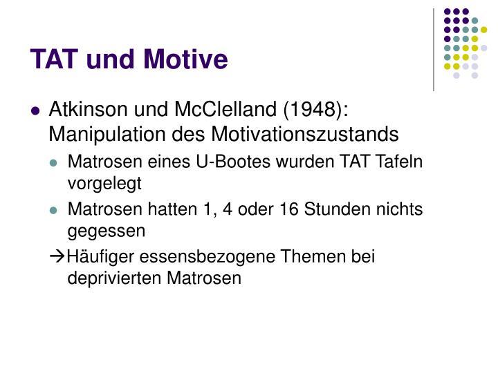 TAT und Motive