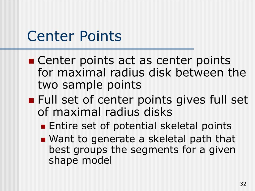 Center Points