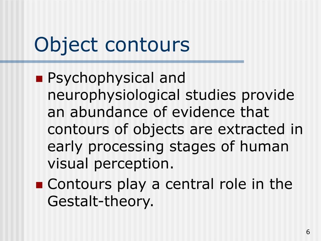Object contours