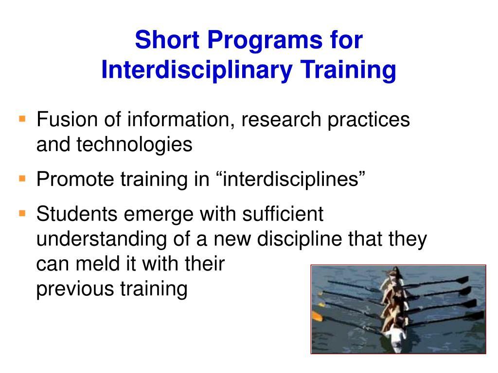 Short Programs for