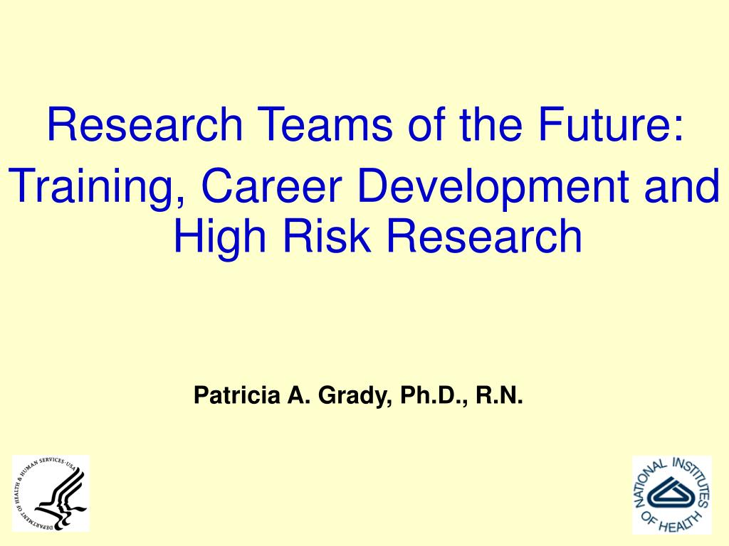 Research Teams of the Future: