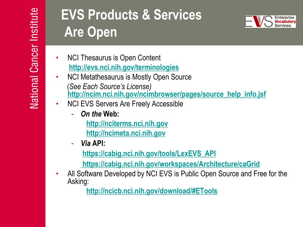 EVS Products & Services