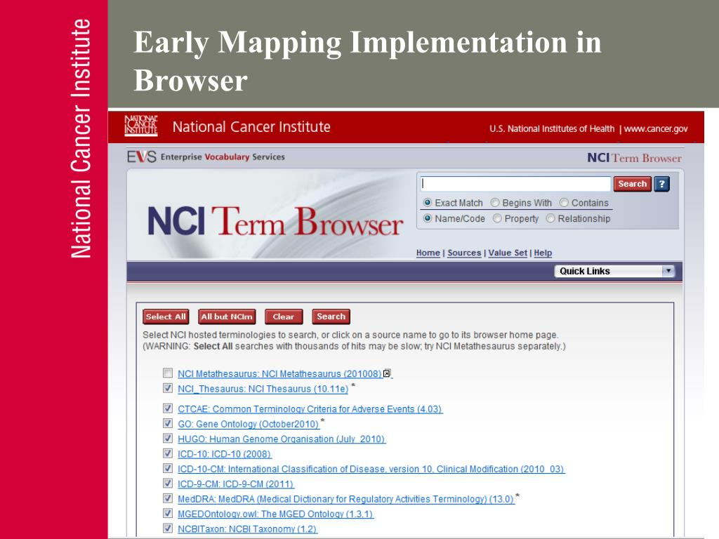 Early Mapping Implementation in Browser