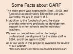 some facts about garf