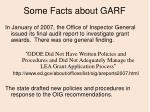 some facts about garf5