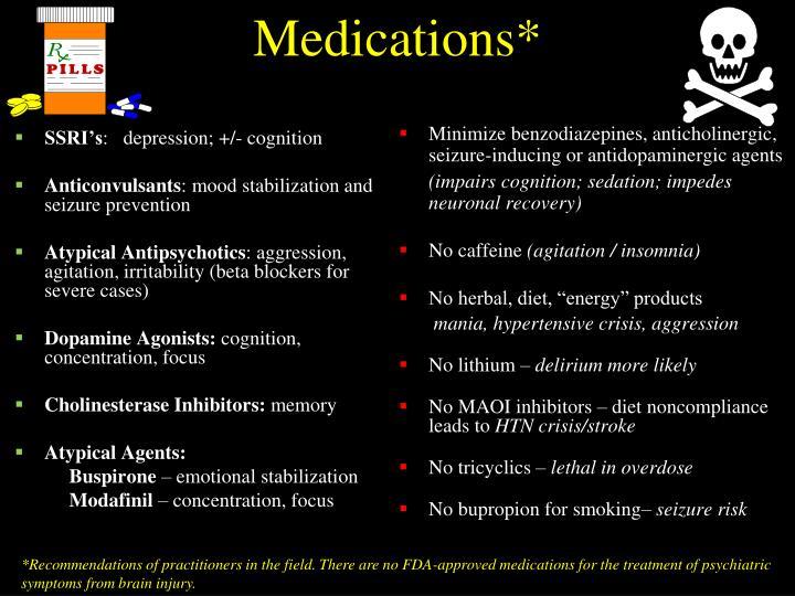Medications*