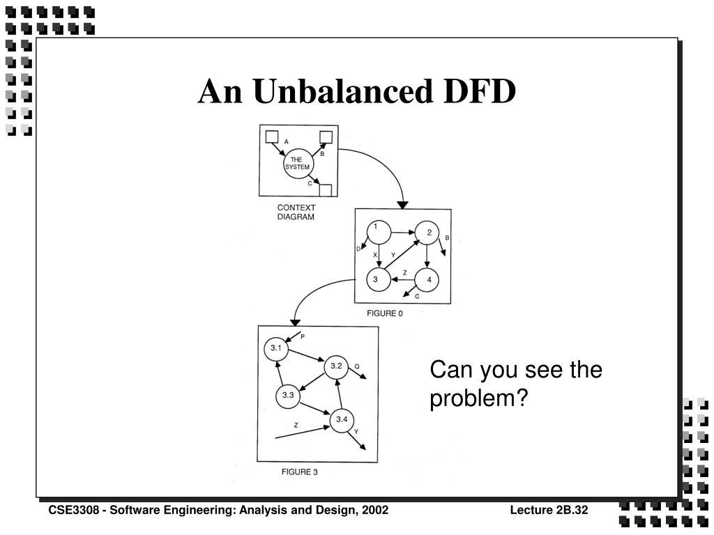 An Unbalanced DFD