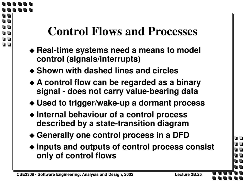 Control Flows and Processes