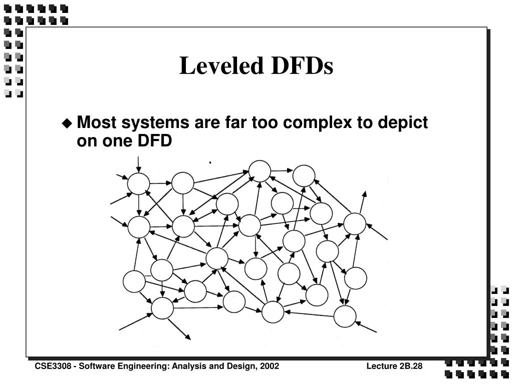 Leveled DFDs