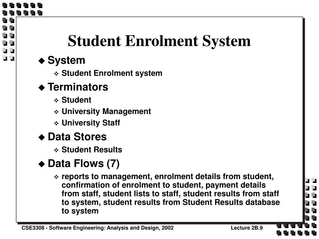 Student Enrolment System