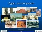 egypt past and present