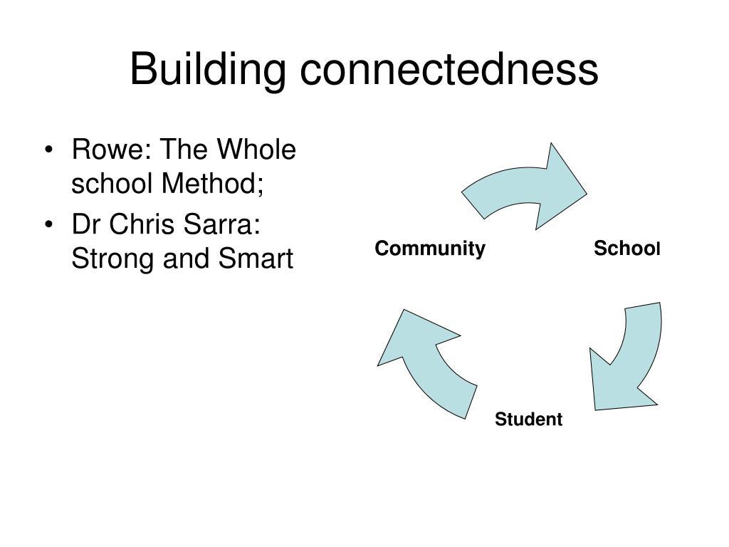 Building connectedness
