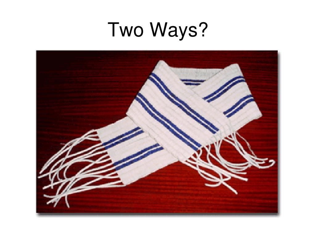 Two Ways?