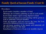 family qard al hassan funds cont d