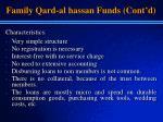 family qard al hassan funds cont d13