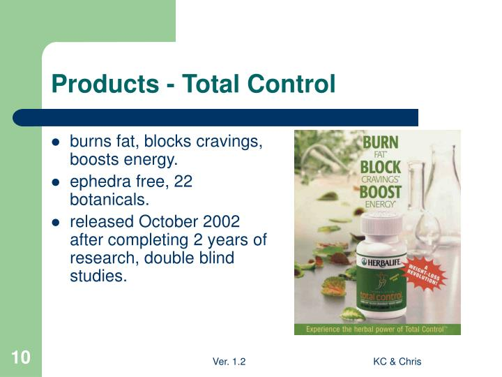 Products - Total Control
