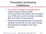 transaction processing middleware