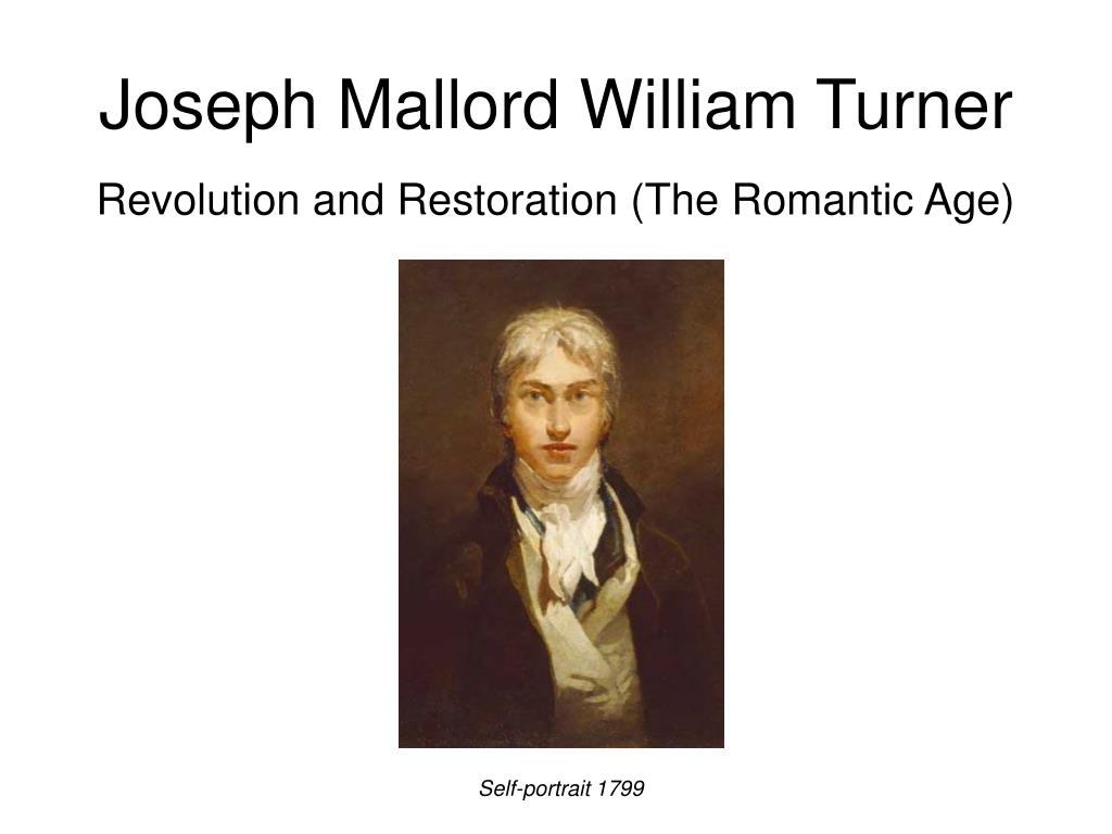 joseph mallord william turner l.