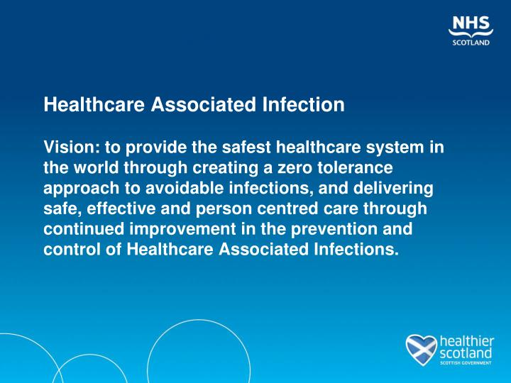 Healthcare Associated Infection