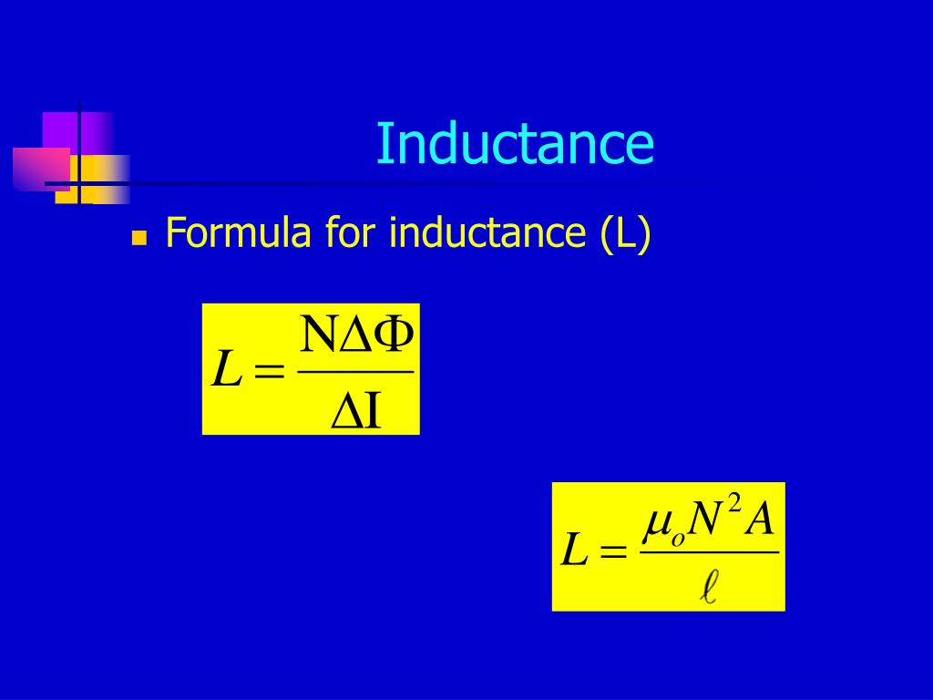 Inductance