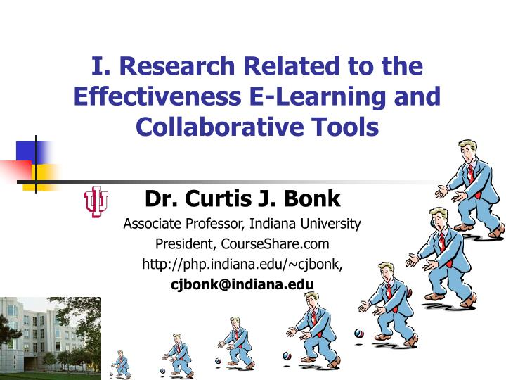 i research related to the effectiveness e learning and collaborative tools n.
