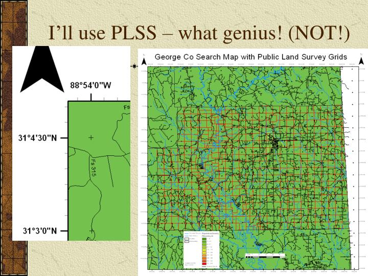 I'll use PLSS – what genius! (NOT!)