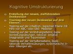 kognitive umstrukturierung35