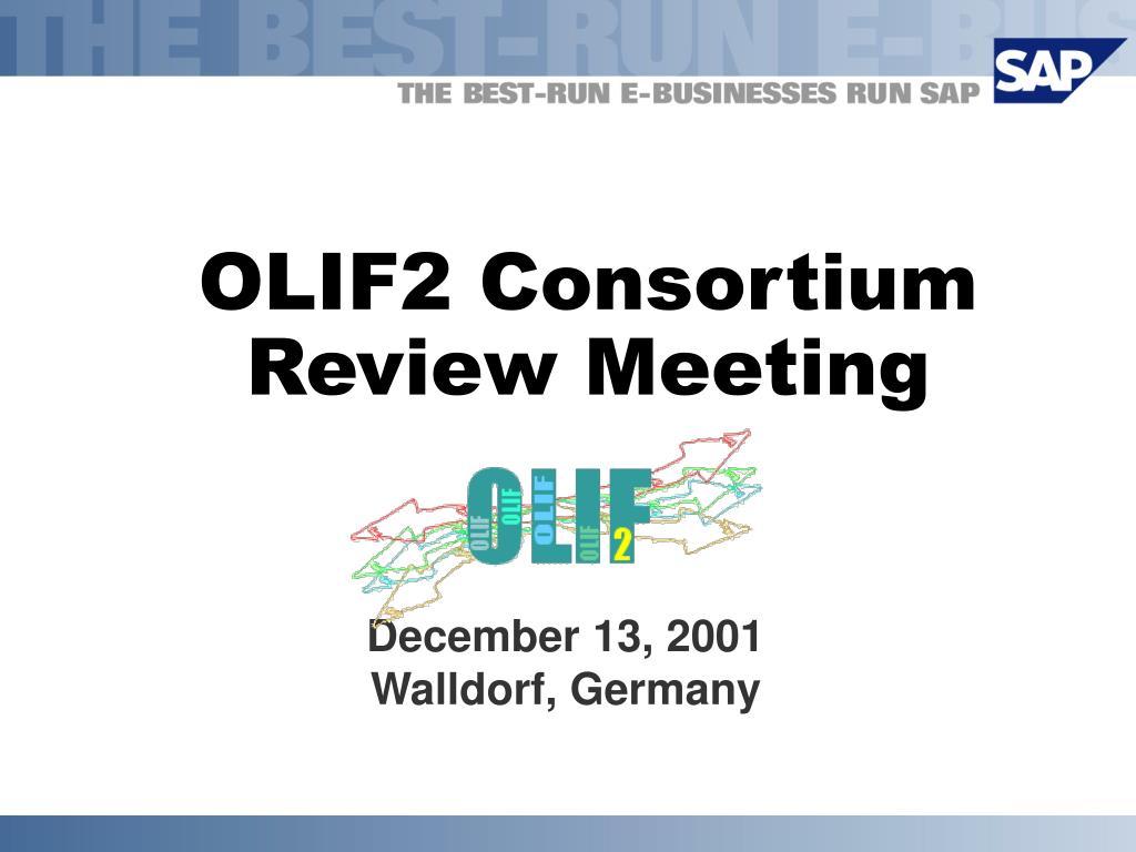 OLIF2 Consortium