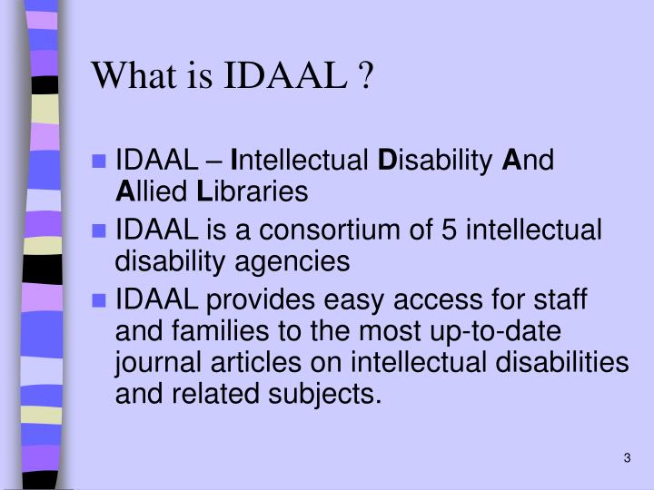 What is idaal