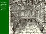 museum of francesco calzolari verona 1622