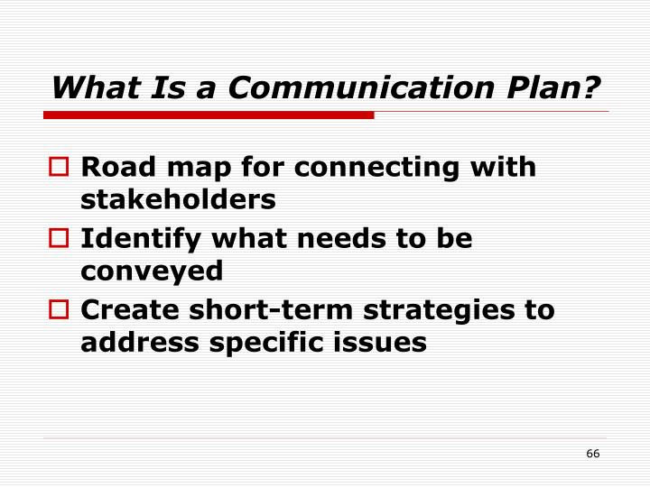 What Is a Communication Plan?